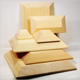 Wooden Drape Moulds