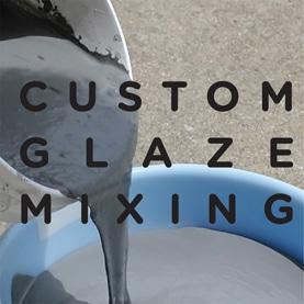 Custom Glaze Mixing