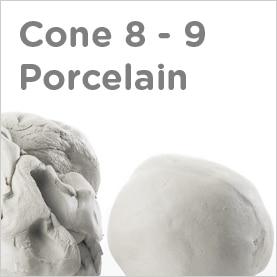 Cone 8-9 Porcelain